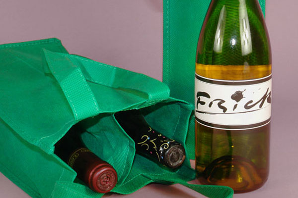 reusable wine paper bags
